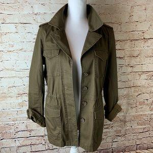 J. CREW Womens Military Utility Jacket